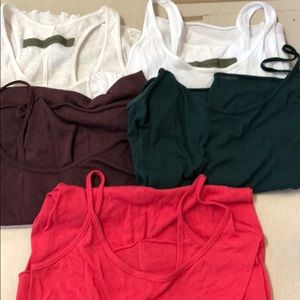 Enza Costa Tank Tops Five Size Small